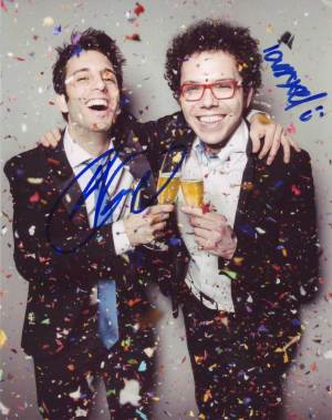A Great Big World in-person autographed photo