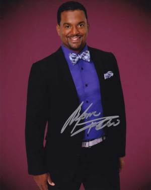 Alfonso Ribeiro in-person autographed photo