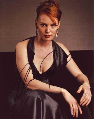 Alicia Witt in-person autographed photo