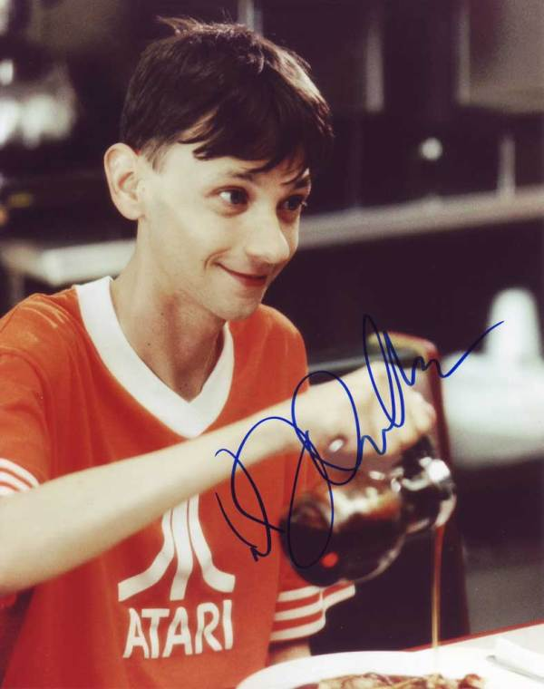 DJ Qualls in-person autographed photo