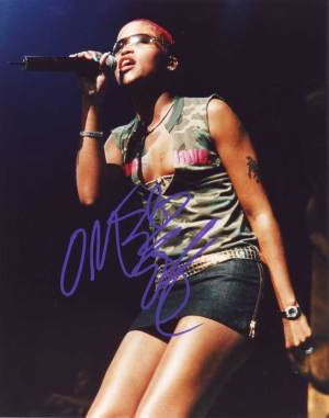 Eve in-person autographed photo