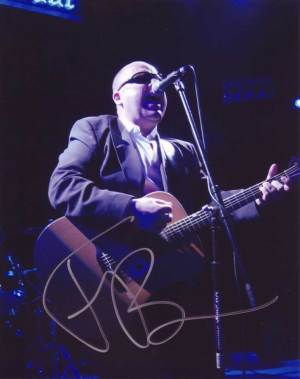 Frank Black in-person autographed photo