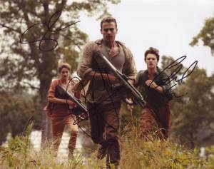 Insurgent In-person autographed Cast Photo by 3
