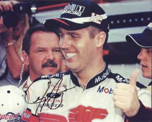 Jeremy Mayfield in-person autographed photo