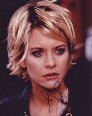Meg Ryan in-person autographed photo