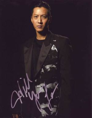 Will Yun Lee in-person autographed photo