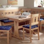 Breakfast Nook Round Table And Chairs Modern Kitchen Furniture Photos Ideas Reviews