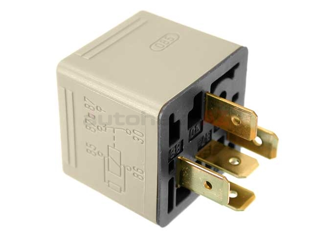 Bosch 0332209159 Multi Purpose Relay; 5 Pin Connector