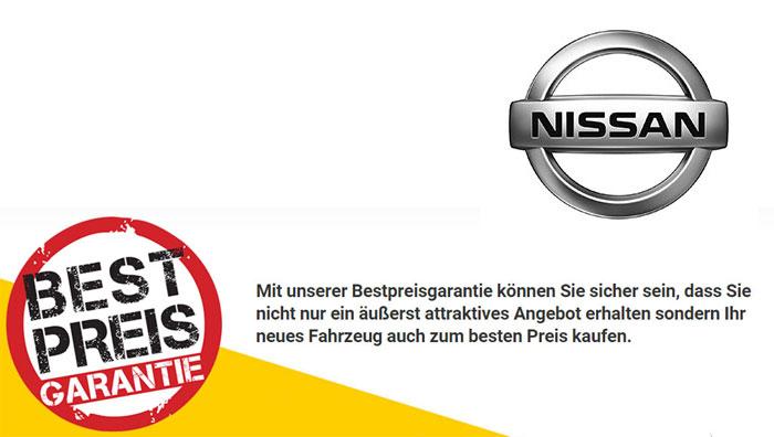 Nissan Bestpreisgarantie