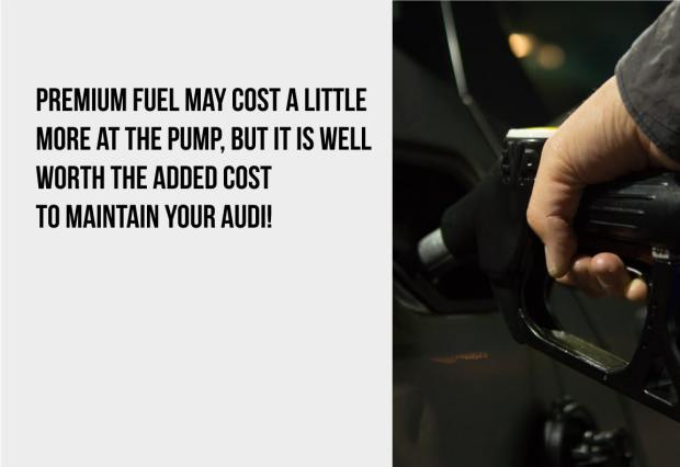premium fuel may cost a little more
