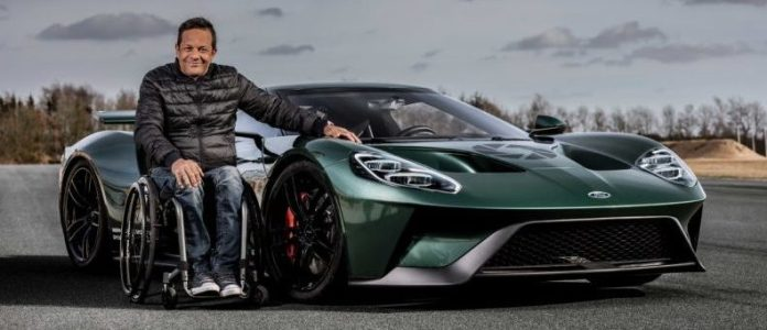 Jason Watt & his Ford GT1