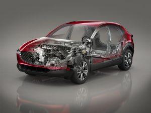 Mazda CX-30_Technical_See-through_SKYACTIV-X_LHD_MT
