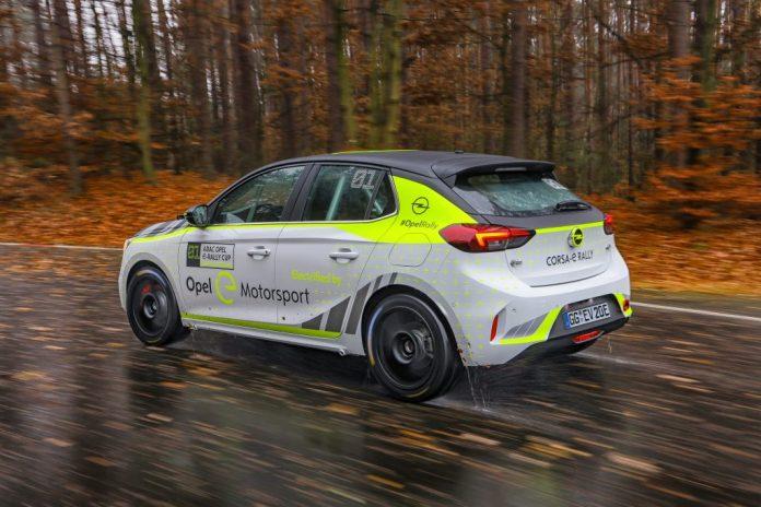 Opel Corsa-e Rallye 05