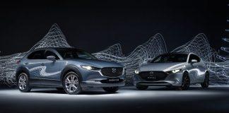 Mazda CX-30 and Mazda3.