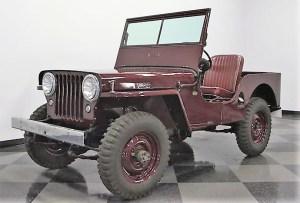 jeep civilian 1945 Willys CJ2 01