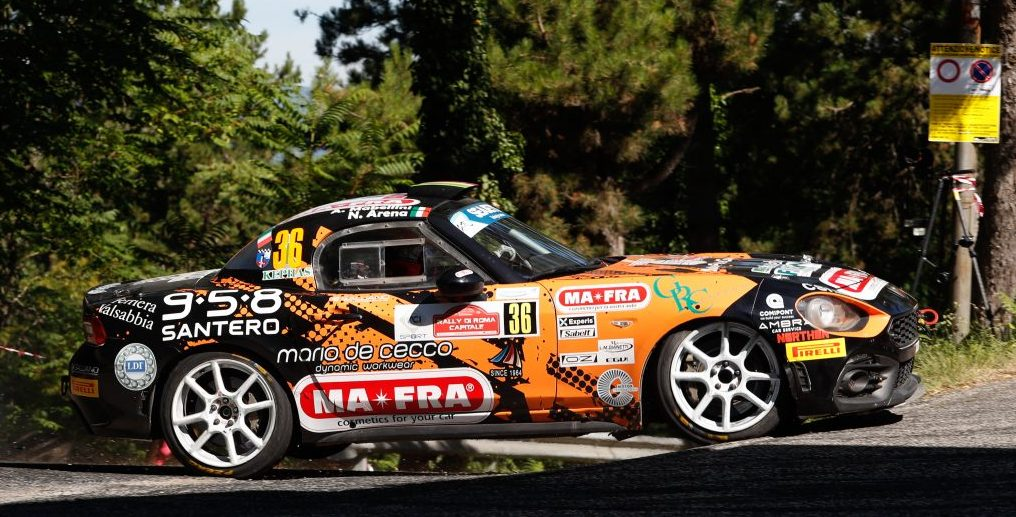 Abarth Rally Cup 2020 100