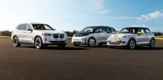 BMW Group electrified model range - Family Shots.