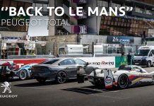 Peugeot Total Back to Le Mans