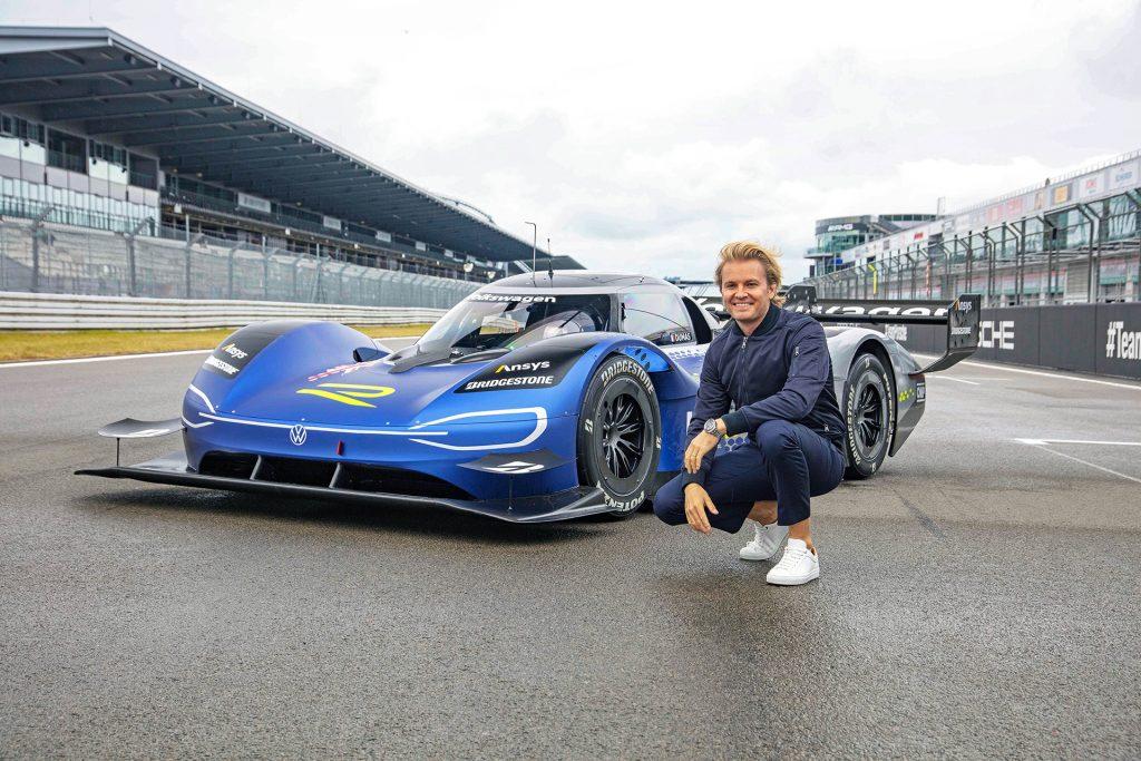Nico Rosberg and the ID.R
