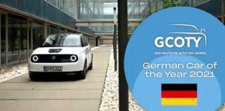 HONDA E German Car of the Year