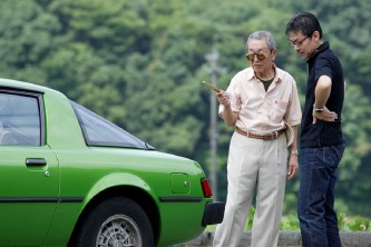 Ikuo Maeda, General Manager Design Division and his father (1)