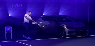 Kia & Rafael Nadal EV6 Handover Event