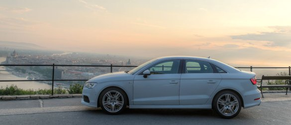 Galerie: Audi A3 Limousine in Budapest