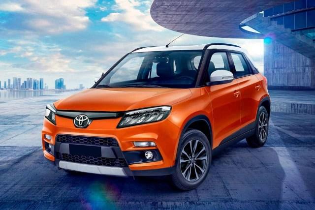 Upcoming Compact SUVs Toyota Urban Cruiser
