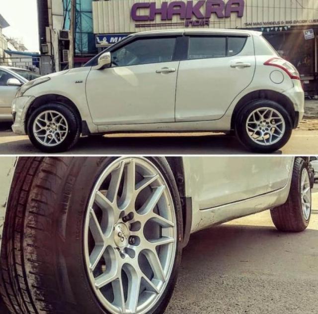Maruti Swift Alloy wheels