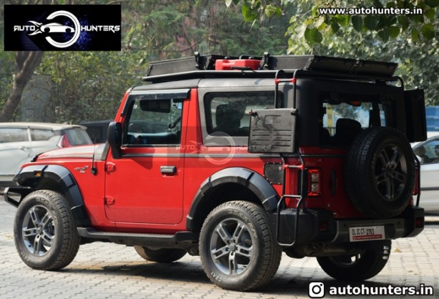 New 2020 Mahindra Thar Modified