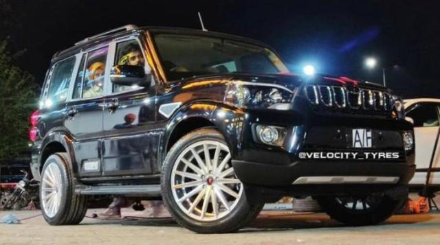 Scorpio Alloy wheels