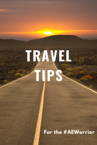 Travel tips  Blog Graphic 1 200x300 - Travel Tips for the AE Warrior