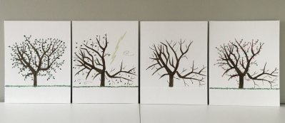 Picture 1 Tree in four seasons scaled - 2020 IAES Virtual Art Show