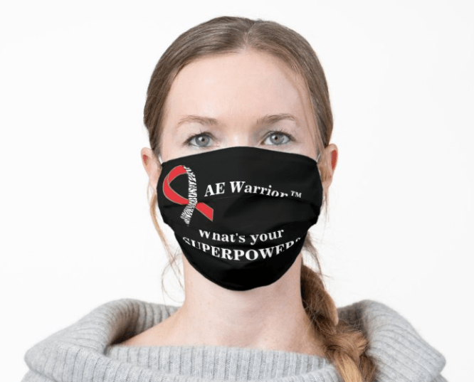 AE Warrior-what's your superpower-mask