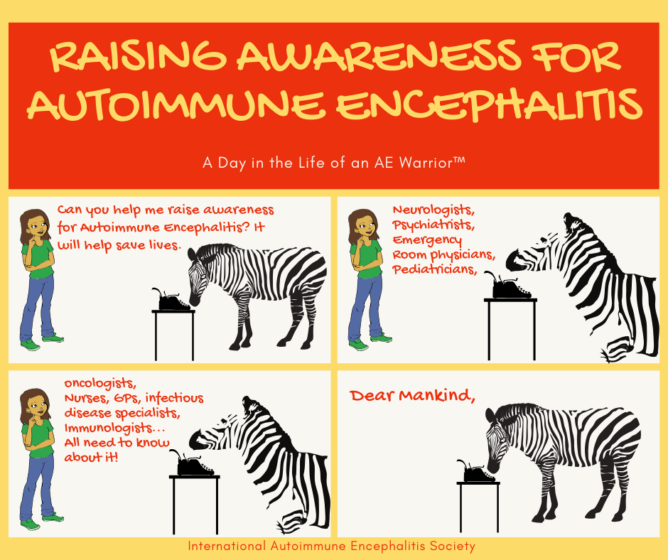 Raising Awareness for AE FB 6 28 20 - Memes About Autoimmune-Encephalitis