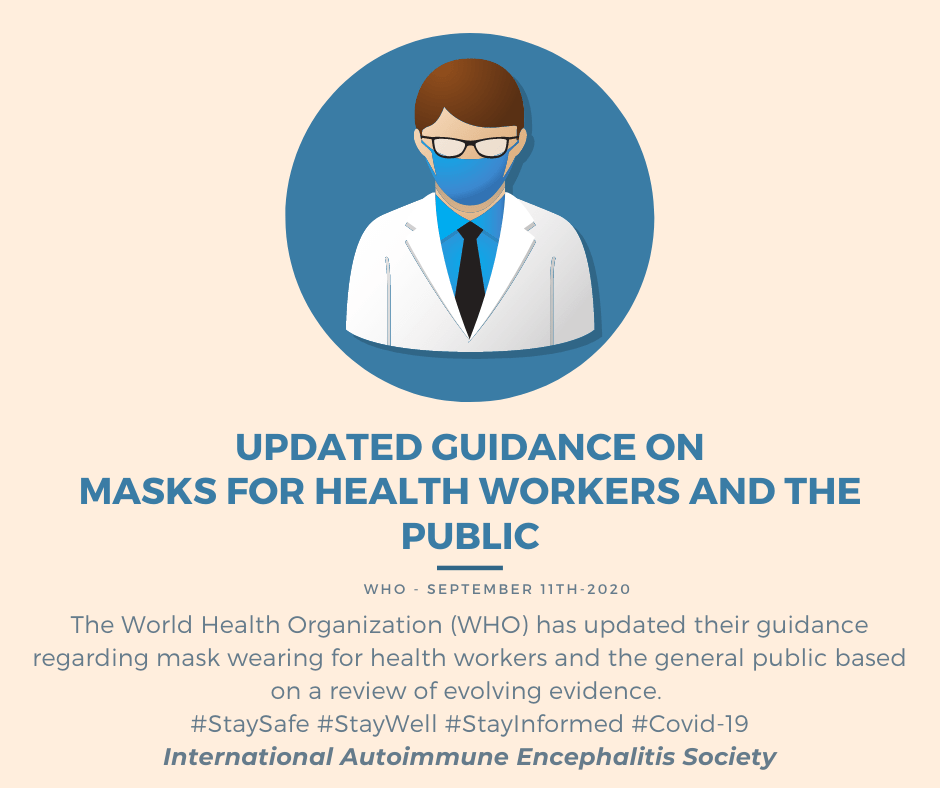 updated guidance on masks for health workers and the public Website FB version 2 - COVID-19