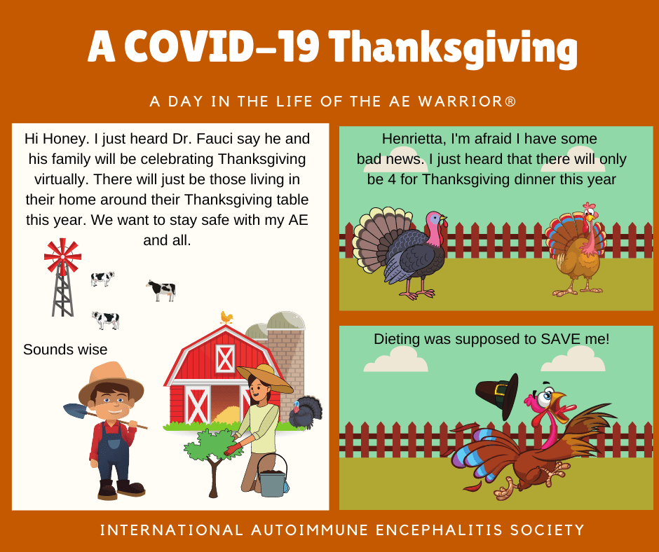 Covid19 Thanksgiving FB - Memes About Autoimmune-Encephalitis