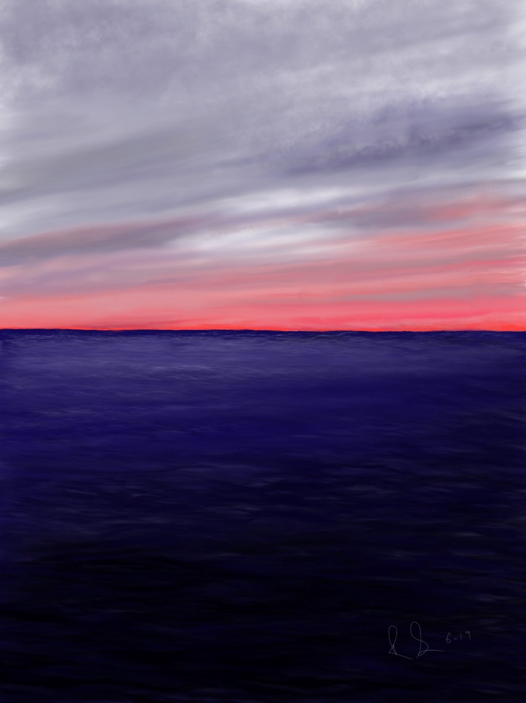 Lake Erie Sunset scaled - 2021 IAES Virtual Art Show