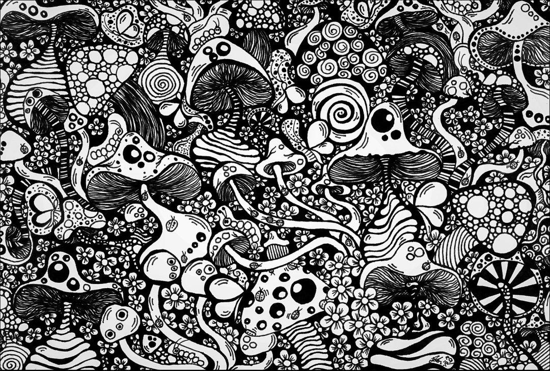 mushroom mayhem - 2021 IAES Virtual Art Show