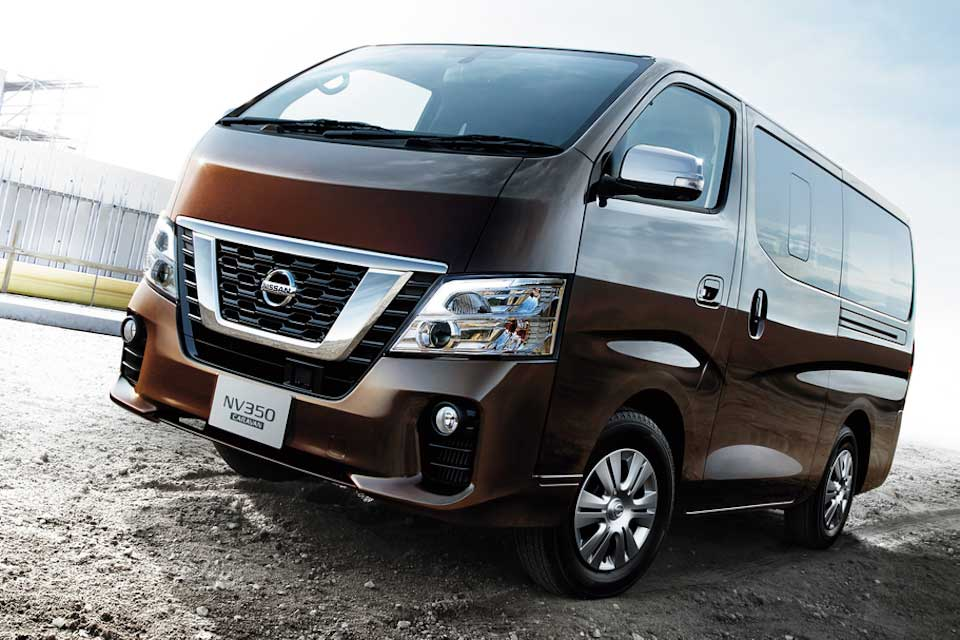 Nissan NV350 Urvan Gets Refreshed For 2018