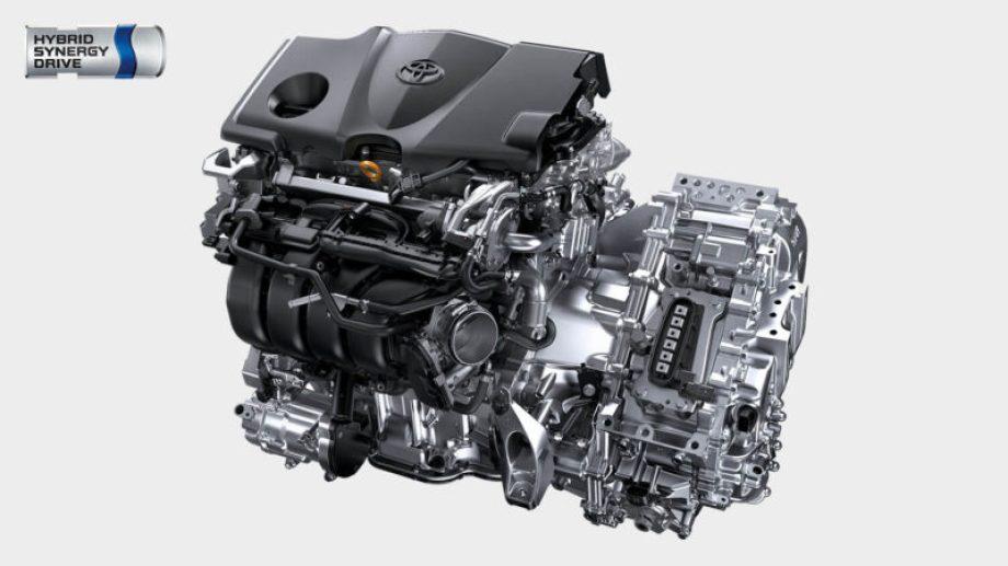 カムリの2.5Lハイブリッドダイナミックフォースエンジン