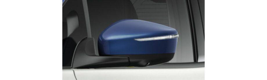 サイドターンランプ付電動格納式リモコンカラードドアミラー