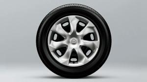 205/60R16タイヤ&16インチスチールホイール+フルホイールキャップ