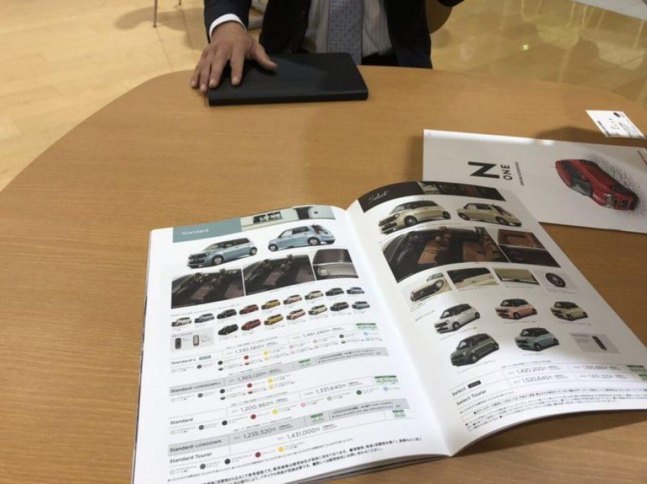 ホンダN-ONE値引き商談のまとめ