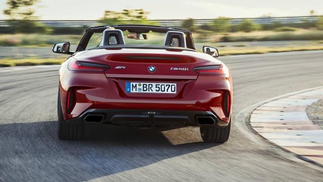 BMW Z4のリヤビュー