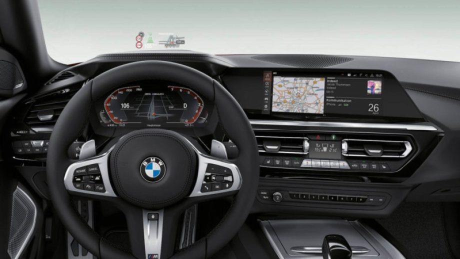 BMW Z4のインテリア