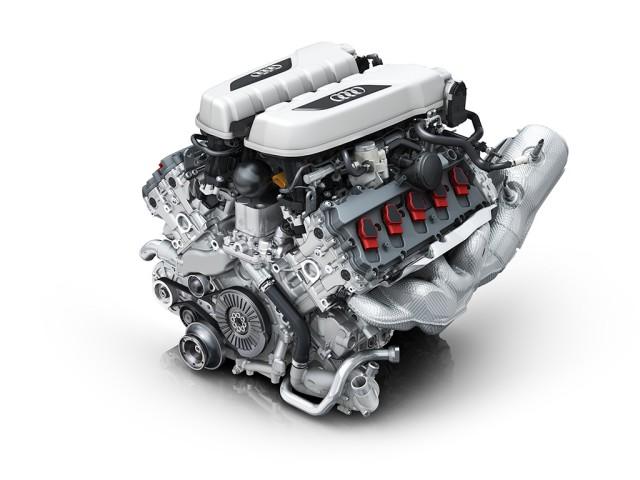 Audi R8の心臓部:自然吸気V10エンジン