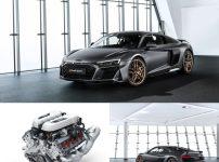 アウディ R8 V10 Decennium(ディセニアム)V10エンジン10周年特別限定モデル