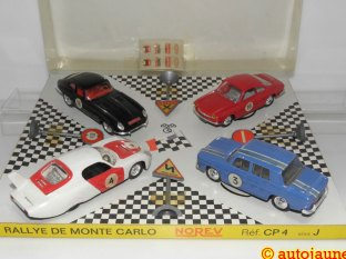 Norev : Rallye de Monte-Carlo