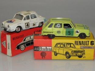 "Dauphine ""Gordini"" et Renault R6 compétition"
